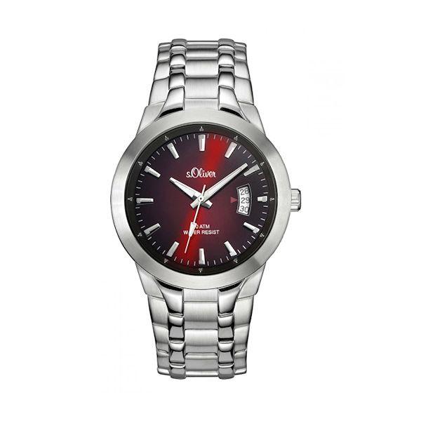 Taschenuhren modern  S.Oliver Herrenuhr SO-2824-MQ modern und sportlich - Armbanduhren ...