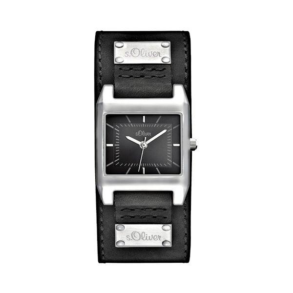 S Oliver Damenuhr So 2465 Lq Modern Und Sportlich Armbanduhren