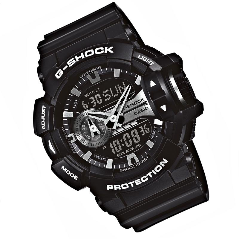 casio g shock schwarz herrenuhr ga 400gb 1aer mit scollrad bedienung armbanduhren. Black Bedroom Furniture Sets. Home Design Ideas