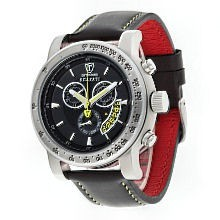 Detomaso DT1031-D Scafati Black Yellow Chronograph