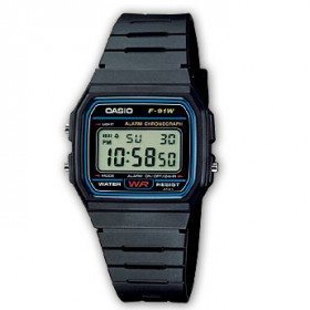 Casio F-91W1YEF Digitaluhr