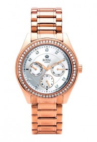 Damenuhr rosegold ROYAL LONDON 21211-09 Multifunktion