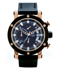 Nobler Chrono ROYAL LONDON 41155-03 Herrenuhr rose