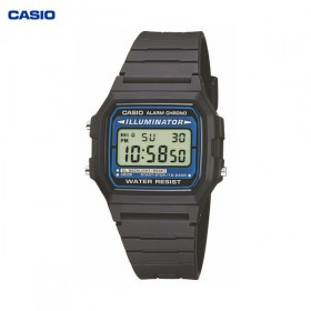 Casio Digitaluhr Unisex Chrono F-105W-1AWYEF