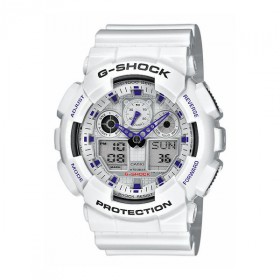 Casio Herrenuhr G-Shock GA-100A-7AER Chronograph