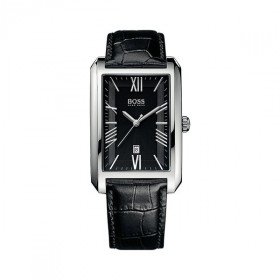 Boss Herrenuhr eckig Ambassador Rectangular 1513026
