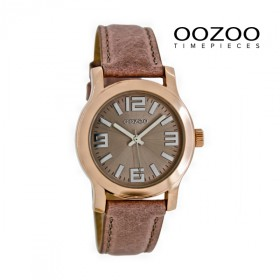 Oozoo Damenuhr C7126 rosagrau-rose