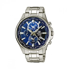 Casio Edifice EFR-304D-2AVUEF Herrenuhr Dualtimer