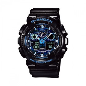 Casio G-Shock Herrenuhr GA-100CB-1AER Cool Blue