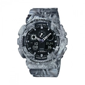 Casio G-Shock Herrenuhr GA-100MM-8AER Marble Camouflage