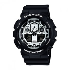 Casio G-Shock GA-100BW-1AER Herrenuhr