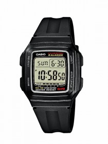 Casio Digital Armbanduhr F-201WA-1AEF