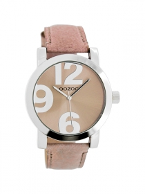 OOZOO Damenuhr JR191 pinkgrey - 40 mm