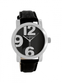 OOZOO Damenuhr JR194 black - 40 mm