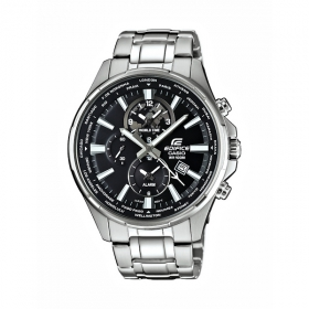 Casio Edifice EFR-304D-1AVUEF Herrenuhr Dualtimer