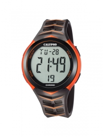 Calypso Uhren Herren K5730/6 Digitaluhr orange anthrazit