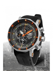 Vostok Europe Lunokhod 2 Multifunktional schwarz-orange