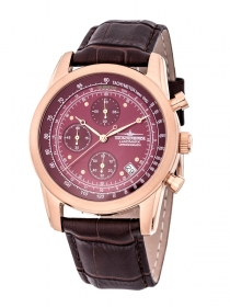 Thunderbirds Landmark Chrono rosé rot TB1001-05, 5 Atm