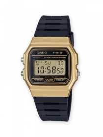Casio Digital Armbanduhr F-91WM-9AEF Casio Collection