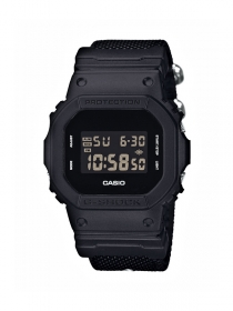 Casio G-Shock Digitaluhr DW-5600BBN-1ER mit Negativ-Display