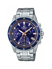 Casio Edifice Uhr EFV-540D-2AVUEF - Stahlband - 10 bar
