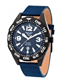 Army Watch Taucheruhr 20bar blau EP182