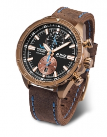 Vostok Europe Almaz Chrono Bronze 6S11-320O266