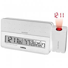 Ruhla Funk Projektionswecker Digital Garde RC-clock 170-2