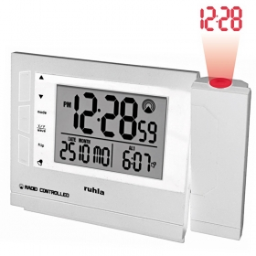 Ruhla Funk Projektionswecker digital Garde RC-clock 1561-2
