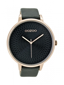 Oozoo Damenuhr C9524 rose - anthrazit 48mm