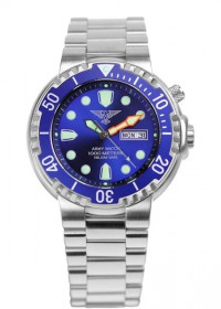 Army Watch EP 845 Tauchuhr 100 Atm blau
