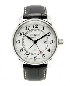 Zeppelin 7642-1 GMT Herrenuhr LZ127 Graf Zeppelin