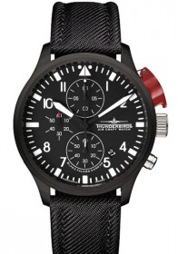 Fliegeruhr Thunderbirds Black Edition Chrono TB1066