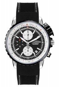 Thunderbirds Chronograph Fighting Black Steel 1057